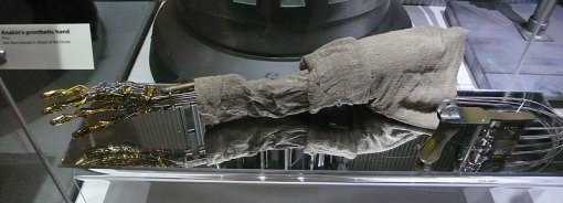 Luke Skywalker's prosthetic arm