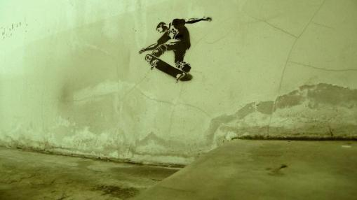 stencil-skateboarder