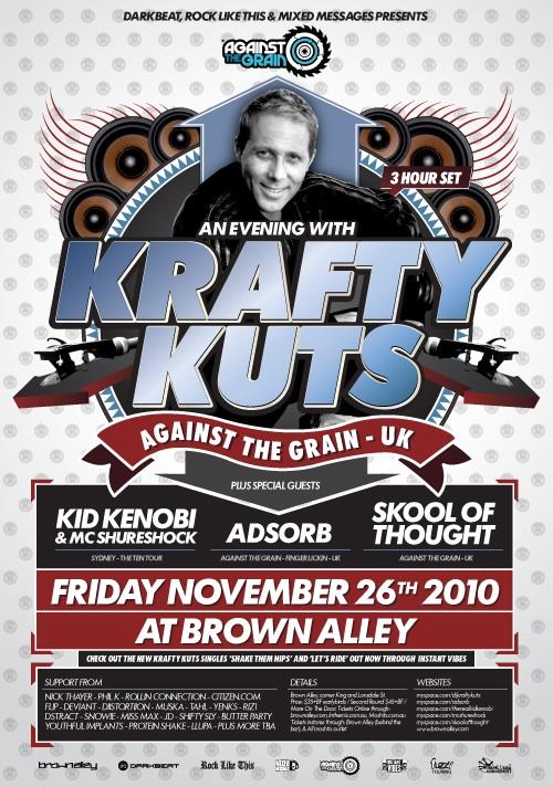 Krafty Kuts - Krafty Kuts Presents... Finger Lickin' Funk Vol. 1